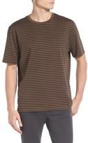 Vince Men's Narrow Stripe Pima Cotton T-Shirt