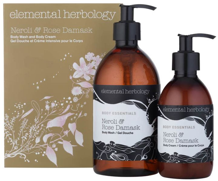 Elemental Herbology Neroli and Rose Damask Body Duo