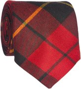 Lochcarron of Scotland Wallace Modern Wool Plaid Neck Tie Made in Scotland