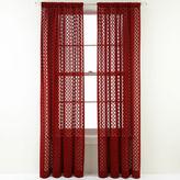 Royal Velvet Stanza Rod-Pocket Sheer Panel