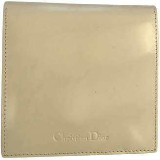 Christian Dior White Patent leather Purses, wallets & cases