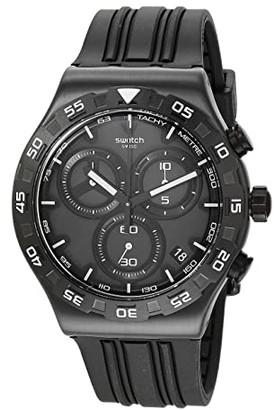Swatch Teckno Black - YVB409 (Black) Watches