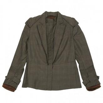 Veronique Branquinho Brown Wool Jackets