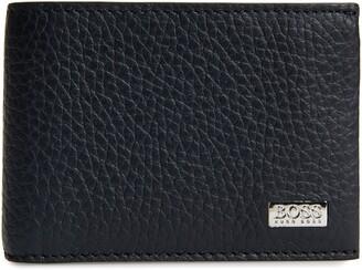 HUGO BOSS Crosstown 6 Card Leather Wallet