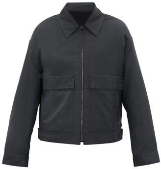 Raey Patch-pocket Technical Jacket - Dark Green