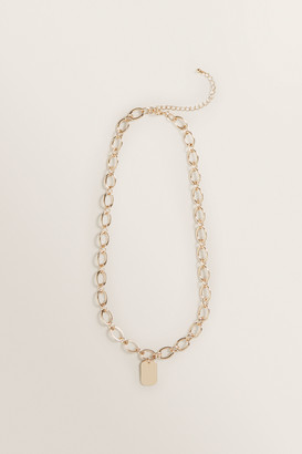 Seed Heritage Wide Chain Necklace