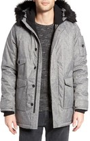 NATIVE YOUTH Men's Snowfield Water Repellent Parka