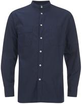 Universal Works Poplin Stoke Shirt Navy