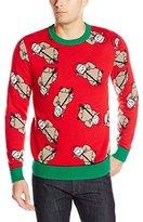 Alex Stevens Men's Sloth Bonanza Ugly Christmas Sweater