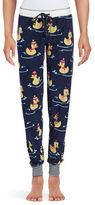 PJ Salvage Duck-Print Thermal Pajama Pants