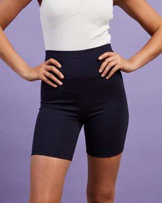 Dazie - Women's Blue High-Waisted - Take A Ride Bike Shorts - Size 6 at The Iconic