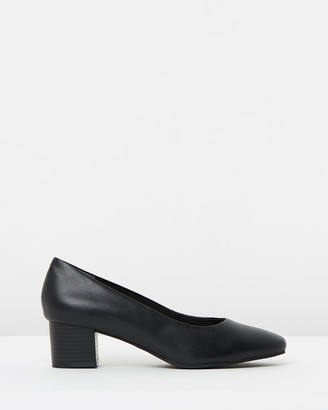 Easy Steps - Women's Black All Pumps - Gamma - Size One Size, 7 at The Iconic