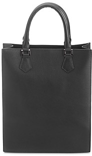 Royce New York Structured Leather Executive Tote Bag