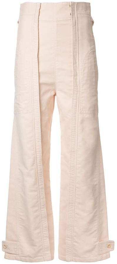 Chloé workwear trousers