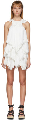 Isabel Marant White Lupita Top