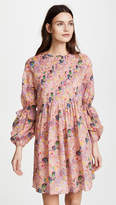 Cynthia Rowley Havana Pintuck Dress