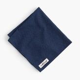 J.Crew The Hill-side® pocket square in indigo dot