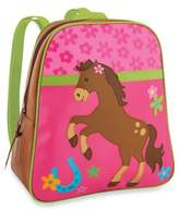 Stephen Joseph Horse Go Go Backpack in Pink/Brown