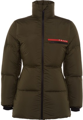 Prada LR-HX015 technical padded jacket
