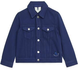 Arket Embroidered Denim Jacket