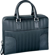 Chopard New York Leather-trimmed Briefcase