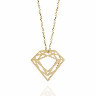 Myia Bonner 9k Gold Classic Diamond Necklace
