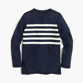 J.Crew Boys' striped rash guard