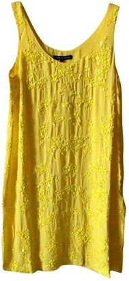 French Connection Yellow Dress for Women