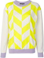 Sofie D'hoore contrast lines sweater