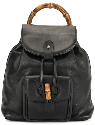 Gucci Pre-Owned Bamboo Line backpack