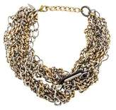 Fallon Crystal Multistrand Necklace