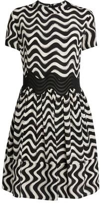Stella McCartney Silk Striped Amina Dress
