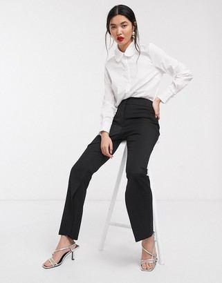 ASOS split hem suit trouser