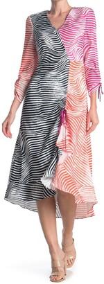 Ted Baker Wizzoh Zebra Mashup Dress