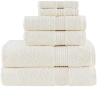 Madison Home USA Organic Cotton 6-piece Bath Towel Set