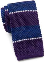 Tommy Hilfiger Shine Stripe Silk Tie