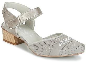 Dorking TUCAN women's Sandals in Grey