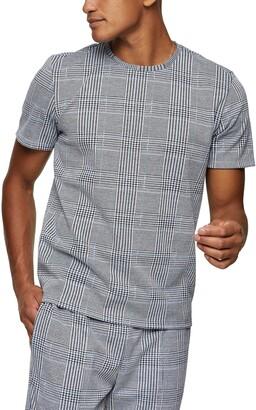Topman Glen Plaid T-Shirt