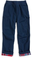 Tea Collection Flannel Lined Pants (Toddler Boys & Little Boys)