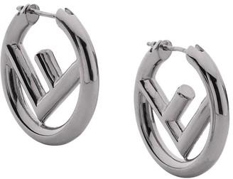 Fendi logo earrings