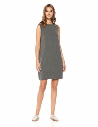 Daily Ritual Amazon Brand Women's Jersey Sleeveless Mock-Neck Dress