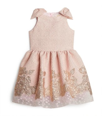 David Charles Gold Wash Sleeveless Dress (4-10 Years)
