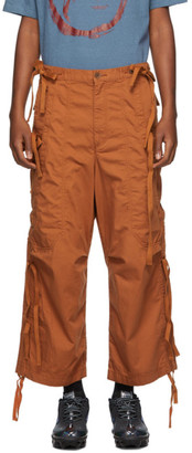 Undercover Orange Drawstring Cargo Pants