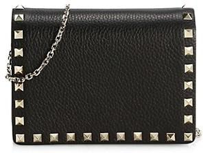 Valentino Rockstud Leather Shoulder Bag