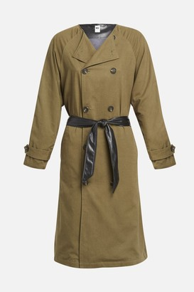 NSF Gladys Contrast Back Trench Jacket