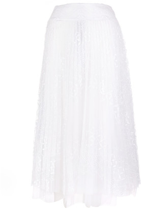 Ermanno Scervino Sangallo Lace Skirt