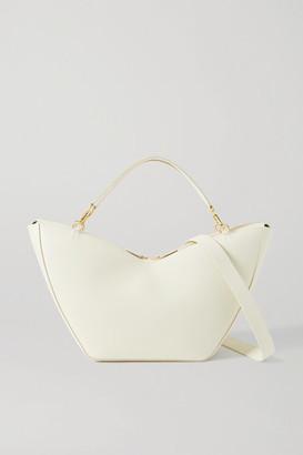S.JOON Tulip Large Leather Shoulder Bag - Cream