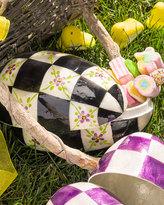 Mackenzie Childs MacKenzie-Childs Violets Egg Box