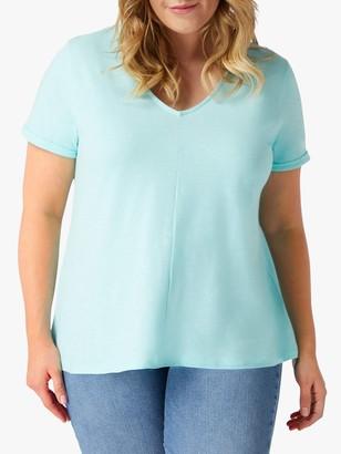 Live Unlimited Curve Slub T-Shirt, Pale Blue