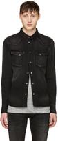 Nudie Jeans Black Denim Jonis Shirt